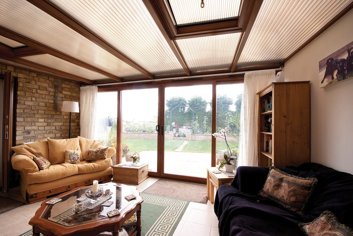 Interior patio doors